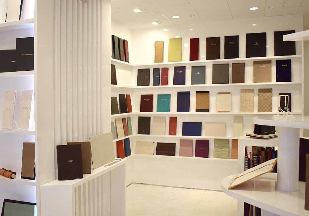 The show room of the menu cover designs
